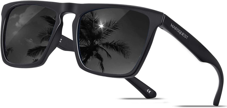Polarized Sunglasses for Men Women 100% UV400 Protection Sports Driving UV Sun Blocking Glasses Lightweight