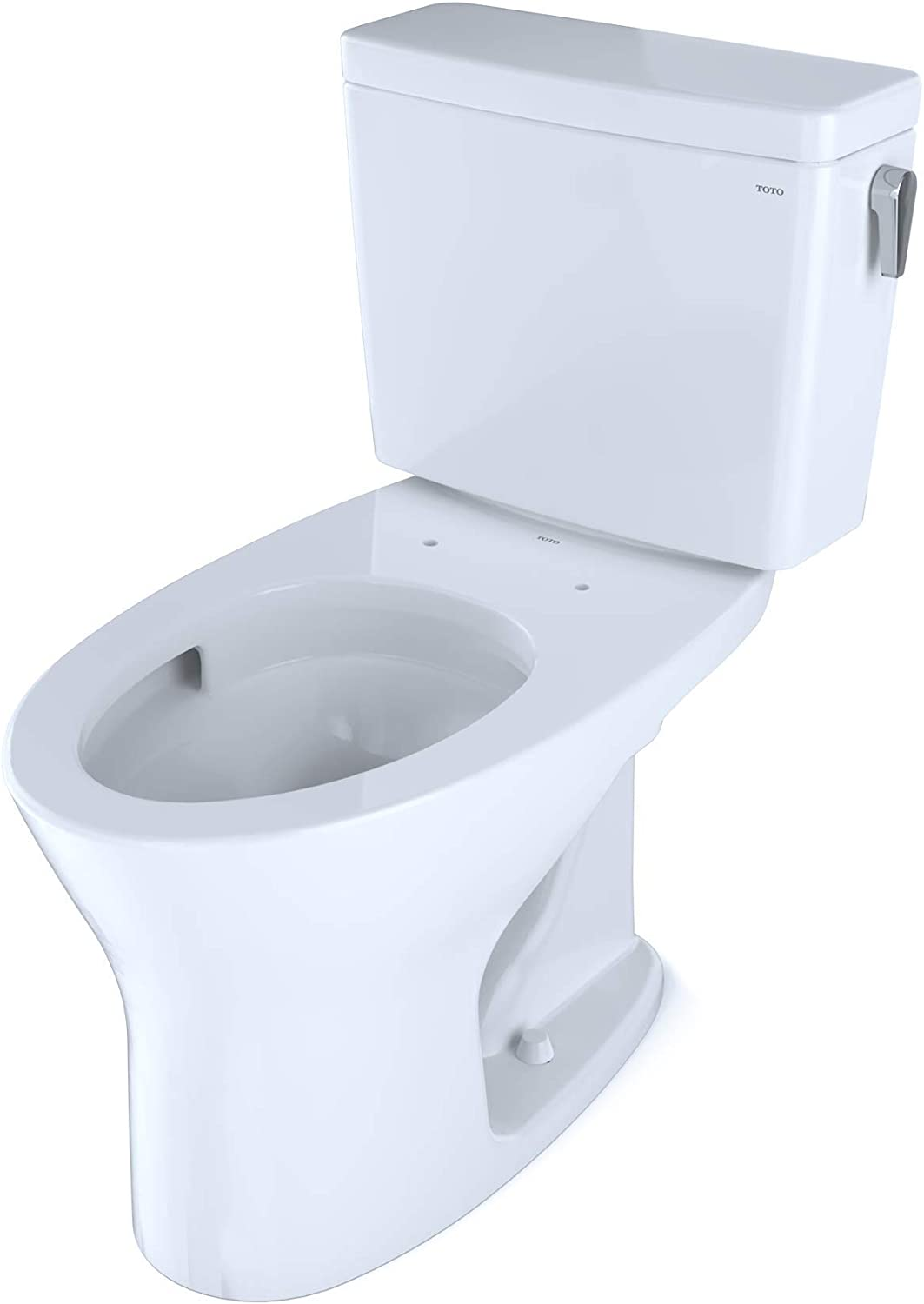 Universal Height DYNAMAX TORNADO FLUSH Toilet with CEFIONTECT and Right-Hand Trip Lever