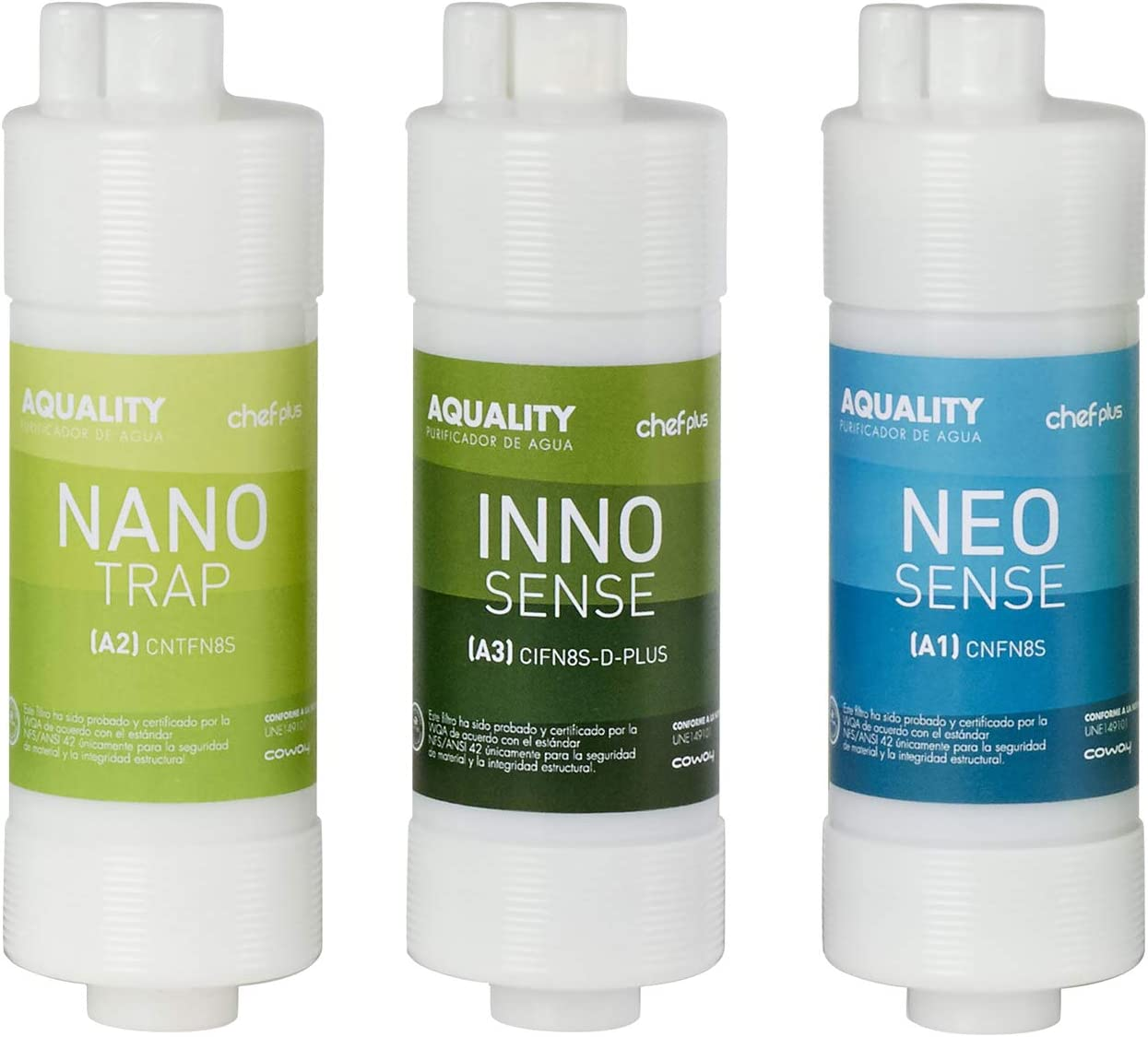Chef Plus Aquality: purificador de Agua de sobreencimera con ...