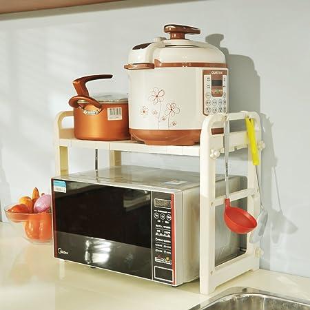 byn cocina horno de microondas de cocina estantes de plástico ...