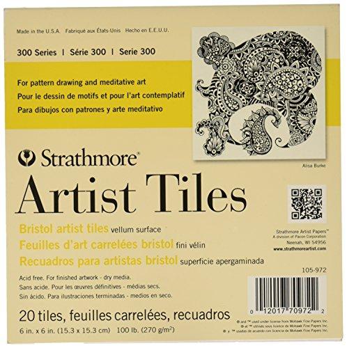 strathmore-artist-tiles-6x6-20-pkg-bristol-vellum