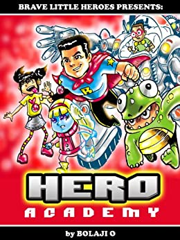 HERO Academy Superheroes Training Superhero ebook product image