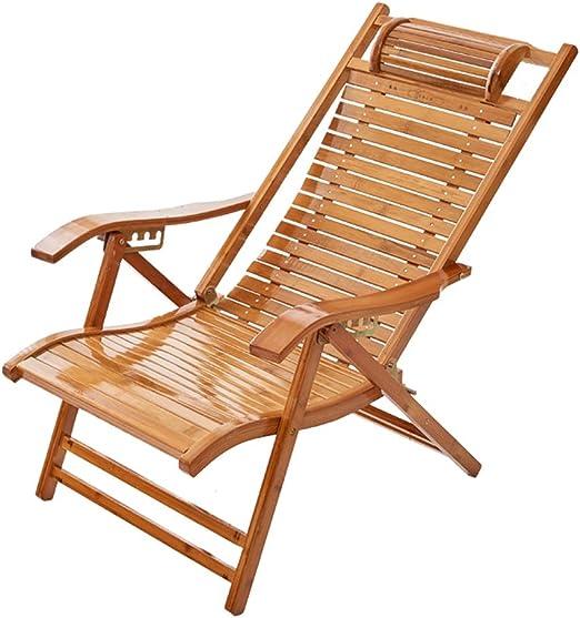 Silla de jardín reclinable Plegable para Uso doméstico o Adulto ...
