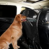 Apaix Pet Barrier Net for Car SUV, Heavy-Duty Front Seat Dog Mesh Obstacle - Dog Barrier for Vehicles, Safe Driving
