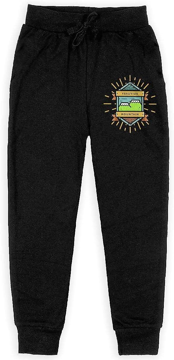 Life Camper Boys Sweatpants,Joggers Sport Training Pants Trousers Black