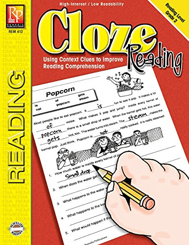 Cloze Reading (Reading Level 2) | Reproducible Activity Book (Cloze Reading Comprehension)