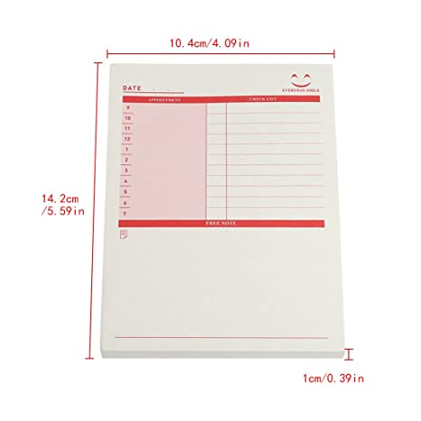 longsw - Cuadernos agenda Bloc de notas Check lista ...
