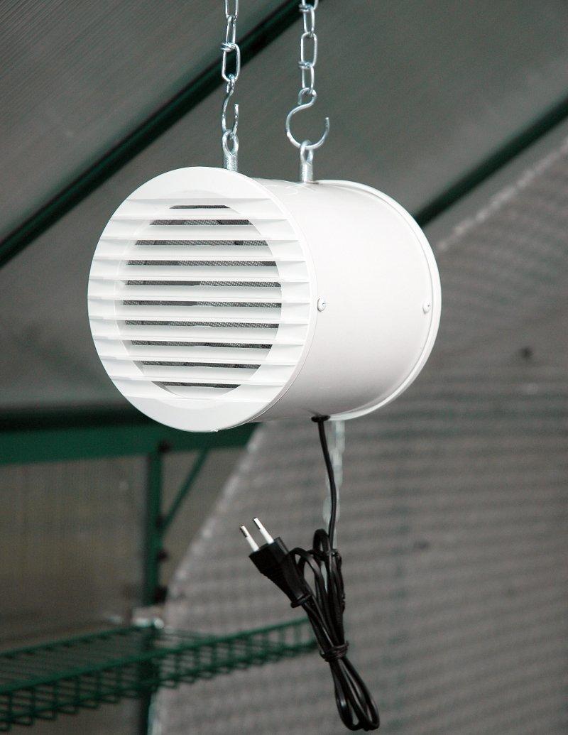 MacGreen® Gewächshaus-Ventilator (41 Watt | 320 m³/h)