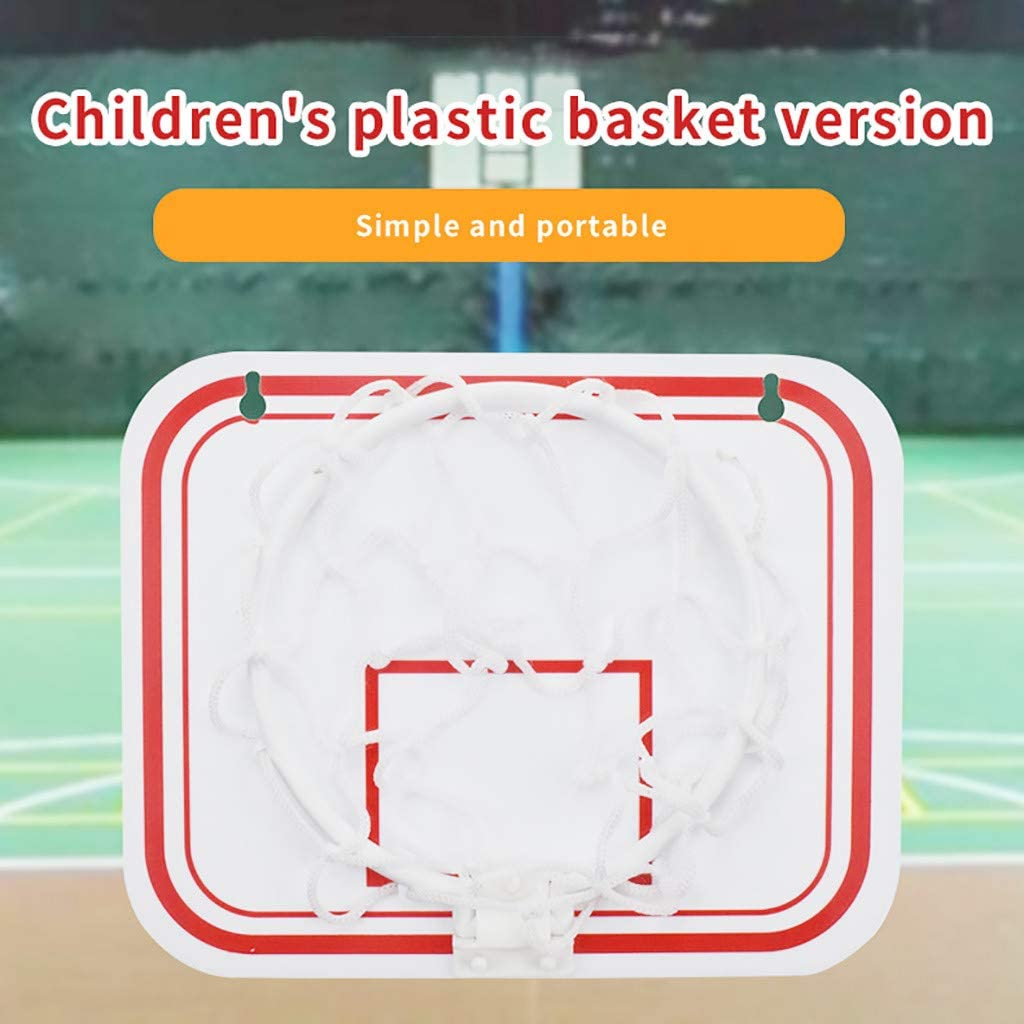 No Punching for Outdoors Indoor Mini Basketball Hoop Portable Hanging Basketball Wall Mounted Goal Hoop Rim