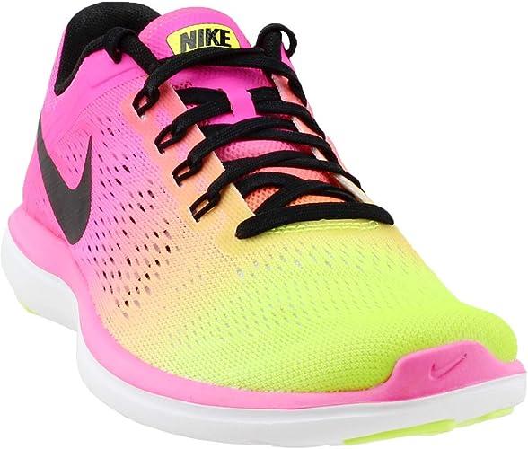 Nike Wmns Flex 2016 RN OC, Zapatillas de Running para Niñas, Negro (Negro (Multi-Color/Multi-Color), 35 1/2 EU: Amazon.es: Zapatos y complementos