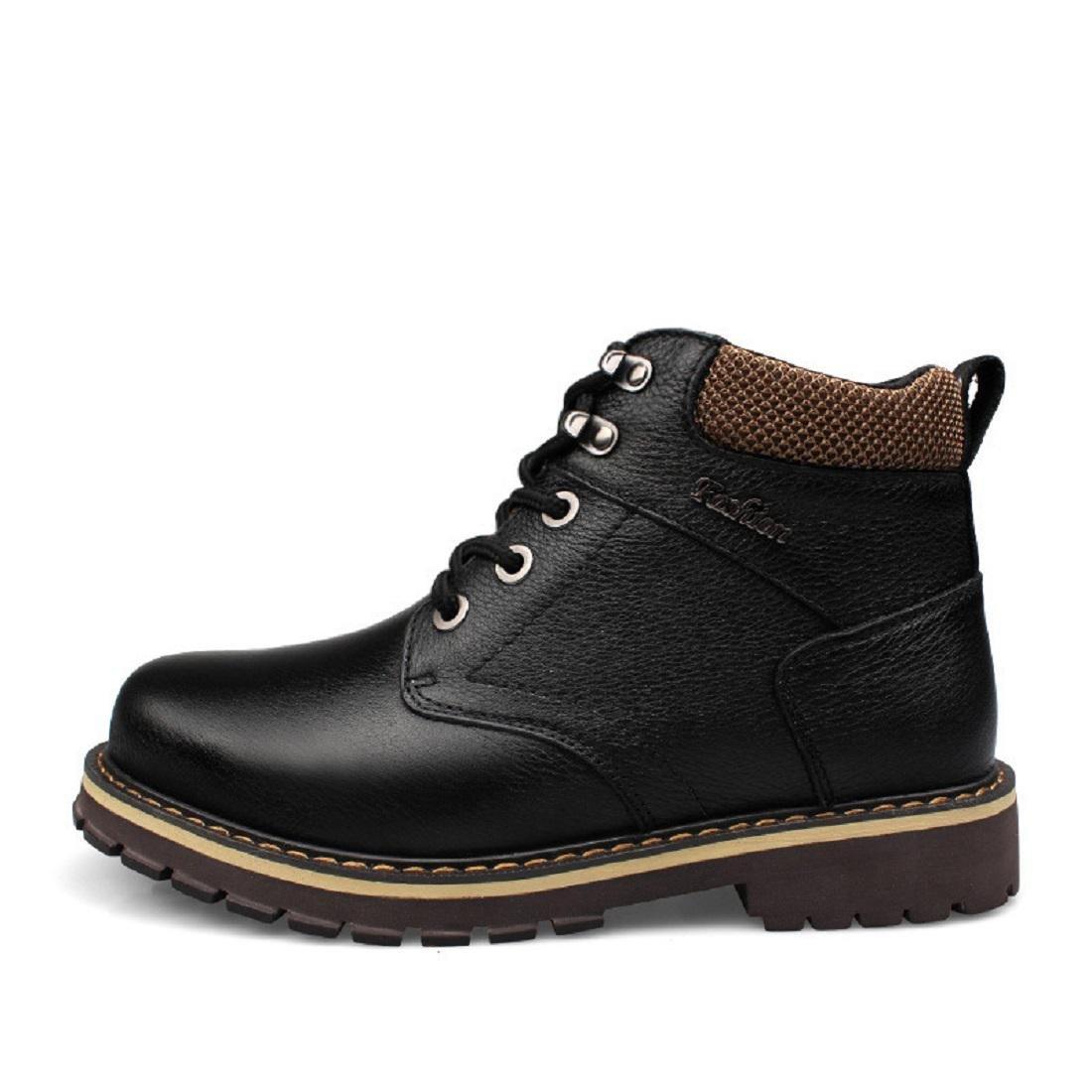 Herren Winter Plus Kaschmir Martin Stiefel Warm Warm Warm halten Baumwollstiefel Draussen Lässige Schuhe Lederstiefel EUR GRÖSSE 38-50  07eb0f