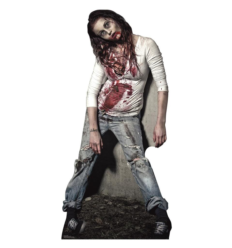 Zombie Girl - Advanced Graphics Life Size Cardboard Standup