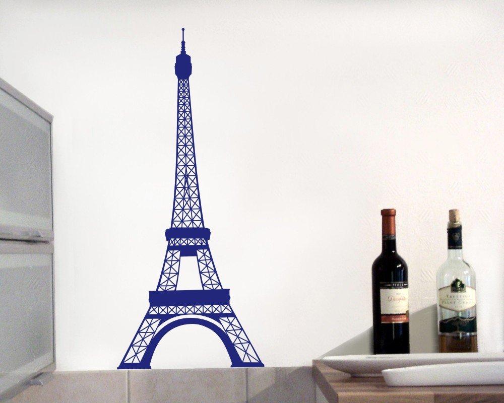 Samunshi® Wandtattoo Eiffelturm Paris Paris Paris Wandaufkleber in 13 Größen und 25 Farben (69x160cm Enzian) B0133E6L02 Wandtattoos & Wandbilder 7843d9