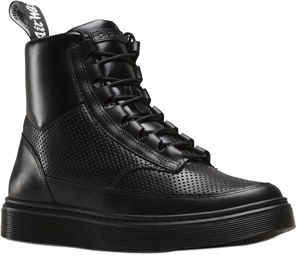 Dr. Martens Mens Kamar Combat Boot Black Size UK 12 (13 M US Men)