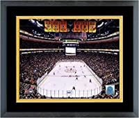 "TD Garden Boston Bruins NHL Stadium Photo (Size: 18"" x 22"") Framed"
