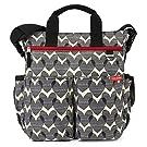 Skip Hop Duo Signature Diaper Bag, Hearts