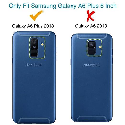 AILRINNI - Protector de pantalla para Samsung Galaxy A6 2018, 2 unidades, cristal templado, cobertura completa, protector de pantalla para Samsung A6 2018, ...