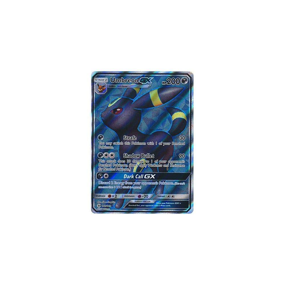 Umbreon GX 142//149 Sun /& Moon Base Set Pack Fresh! Full Art Ultra Rare