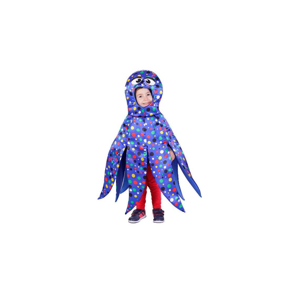Disfraz de pulpo azul infantil - 1-3 años: Amazon.es: Juguetes y ...