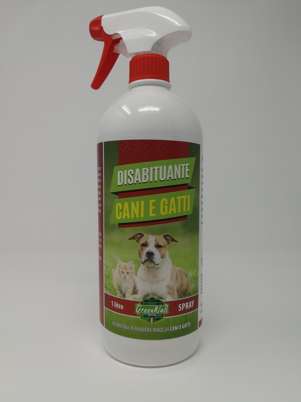 DISSUASIF REPOUSSANT ANTI CHIENS CHATS PRODUIT NATURAL SPRAY 1 LT. Mistermoby