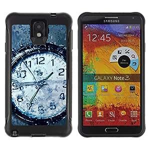 ZAKO Cases / Samsung Note 3 / Watch Water / Robusto Prueba de choques Caso Billetera cubierta Shell Armor Funda Case Cover Slim Armor