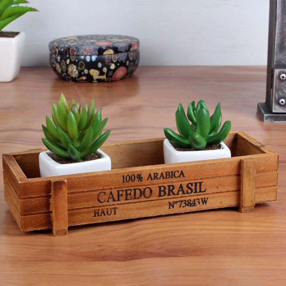 pandabiuuk miniatura Fresa Caja Gnomo de jardín de hadas Hada Hobbit Decoración: Amazon.es: Jardín