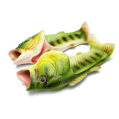 Romacci Damen Fisch Hausschuhe Sandalen Frauen Kinder Kreative Fisch Hausschuhe ZYfA2eAJ9n