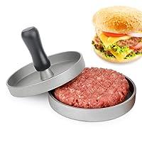 Auvstar Burger alluminio Burger Press, resistente antiaderente hamburger Maker, Perfect Burger stampo ideale per grill