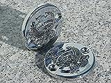 i5 Chrome Eagle Fluid Caps for Kawasaki Vulcan 88 VN 1500