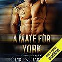 A Mate for York: The Program, Book 1 Hörbuch von Charlene Hartnady Gesprochen von: Lance Greenfield, Amber Black