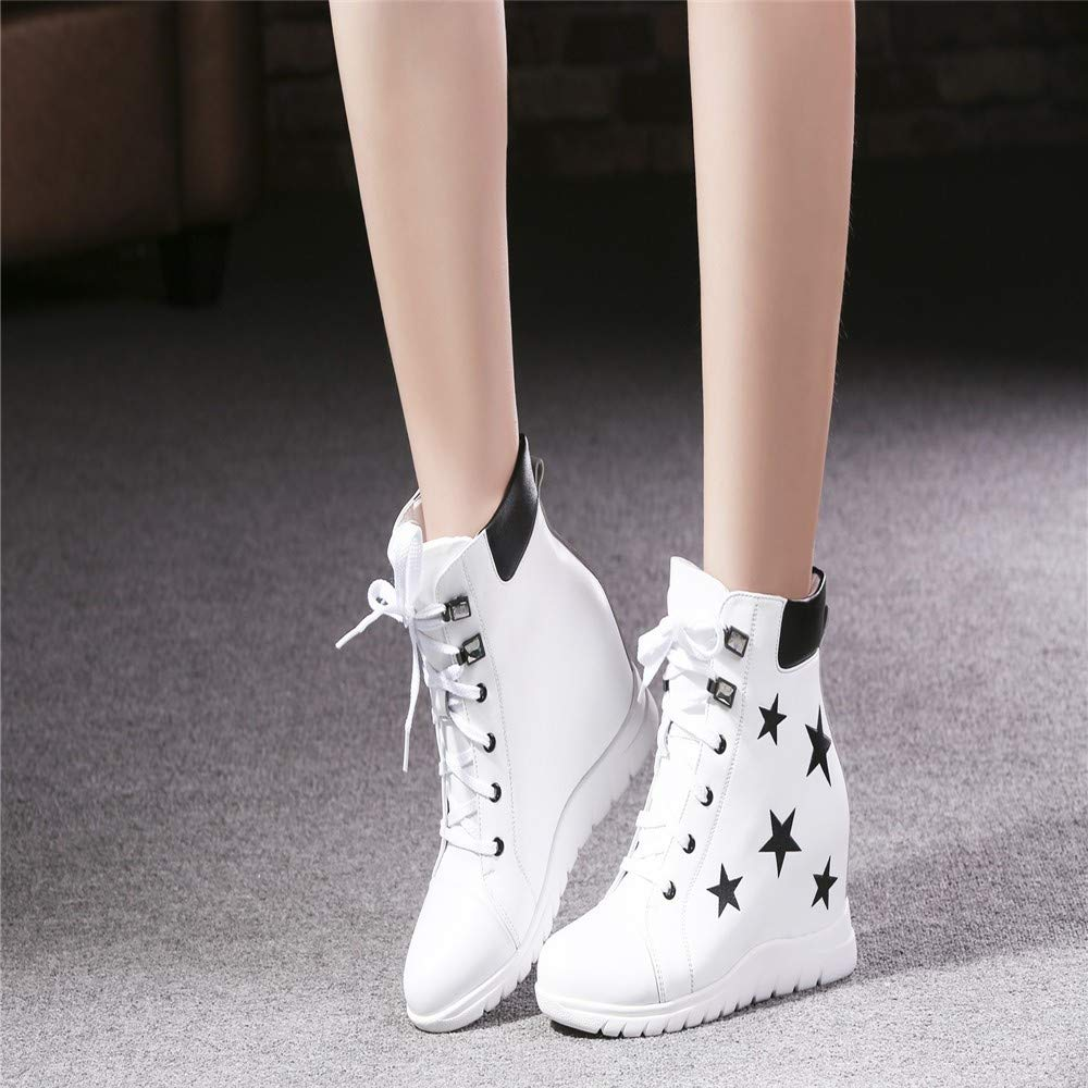 MQQXsport - Stiefel für für für ladies'recreational atmosphärischen Rindsleder erhöhte wasserdicht - plattform 3eed77
