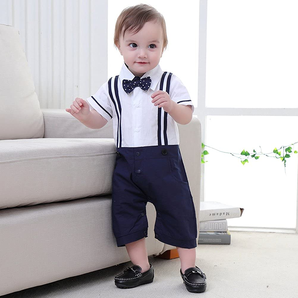 5648ce61d Nyan Cat May s Baby Toddler Boys Short Sleeves Faux Suspenders ...