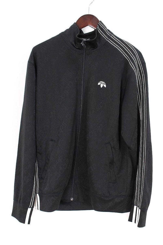 (アレキサンダーワン) ALEXANDER WANG ×アディダス/adidas スリーラインジャージトラックジャケット(M/ブラック) 中古 B07FQ7BVJY