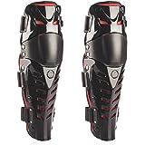 Webetop Professionnelle du Genou de Motocross Moto de Haute Qualité Protector Gardes Équipement de Protection 1 Paire Rouge