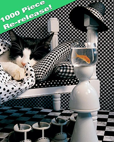 Checkerboard Cat by Springbok (Checkerboard Cat)