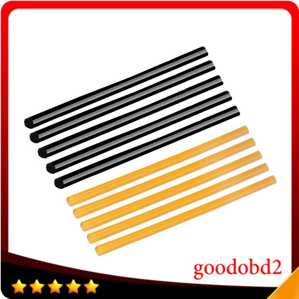 sikeo PDR Tool Glue Sticks 10PCS Hot Glue Sticks for Paintless Dent Repair Tool Work with Glue Gun