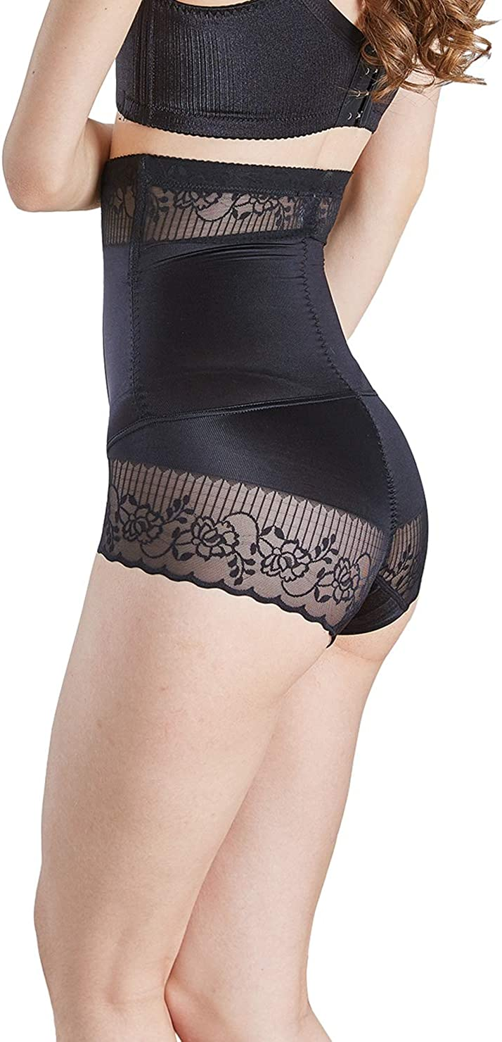 Laveral Womens High Waisted Shaper Panty Tummy Control Butt Lifter Shapewear Panties Briefs