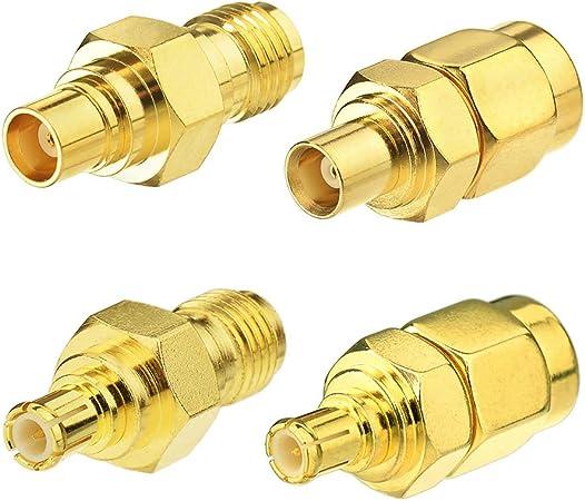 Eightwood Antennenadapter Kit Mcx Auf Sma 4 Typ Für Elektronik