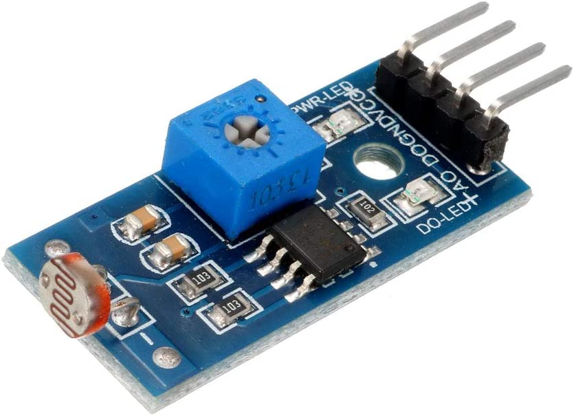 uxcell Photosensitive Sensor Module Digital Light Intensity Detection DC 3.3-5V for Arduino UNO 3pcs
