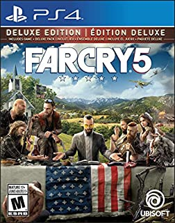 Far Cry 5 Deluxe Edition (Includes Extra Content) - Trilingual - PlayStation 4 (B072BZMV64) | Amazon Products