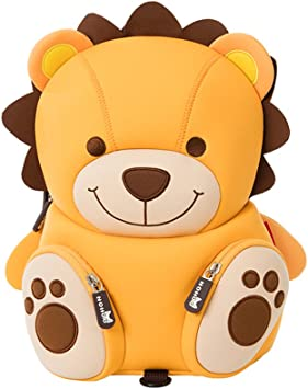 Teddy Bear LYCSIX66 Kids Toddler Backpack with Safety Harness Leash Anti-Lost Preschool Bag for Boy Girl Ages 2-5