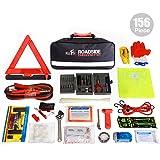Kolo Sports Roadside Emergency Kit 156-Piece Multipurpose Emergency Pack - Great for Automotive Roadside Assistance…