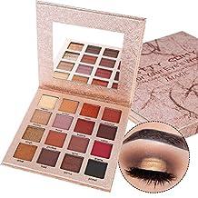 Prettyuk 16 Colors Eye Shadow Matte Shimmer Waterproof Durable Eyeshadow Palette