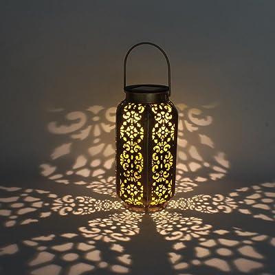 Solaire Bougie Jardin Accrochant Étanche Lumière qScAL534Rj