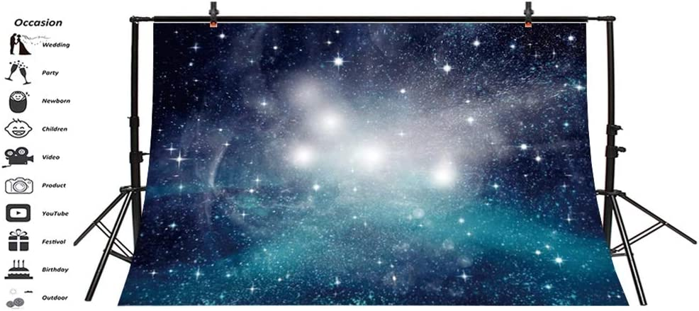 Anmaseven Galaxy Tablecloth 52x70 Inch Landscape from The Movie Fantastic Fictional Galaxy Clash Pattern Sunset Mountains Printing Wedding Birthday Party Outdoor Table Cloth