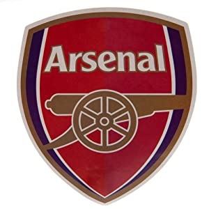 Arsenal F.C. Large Crest Sticker Official Licensed Product