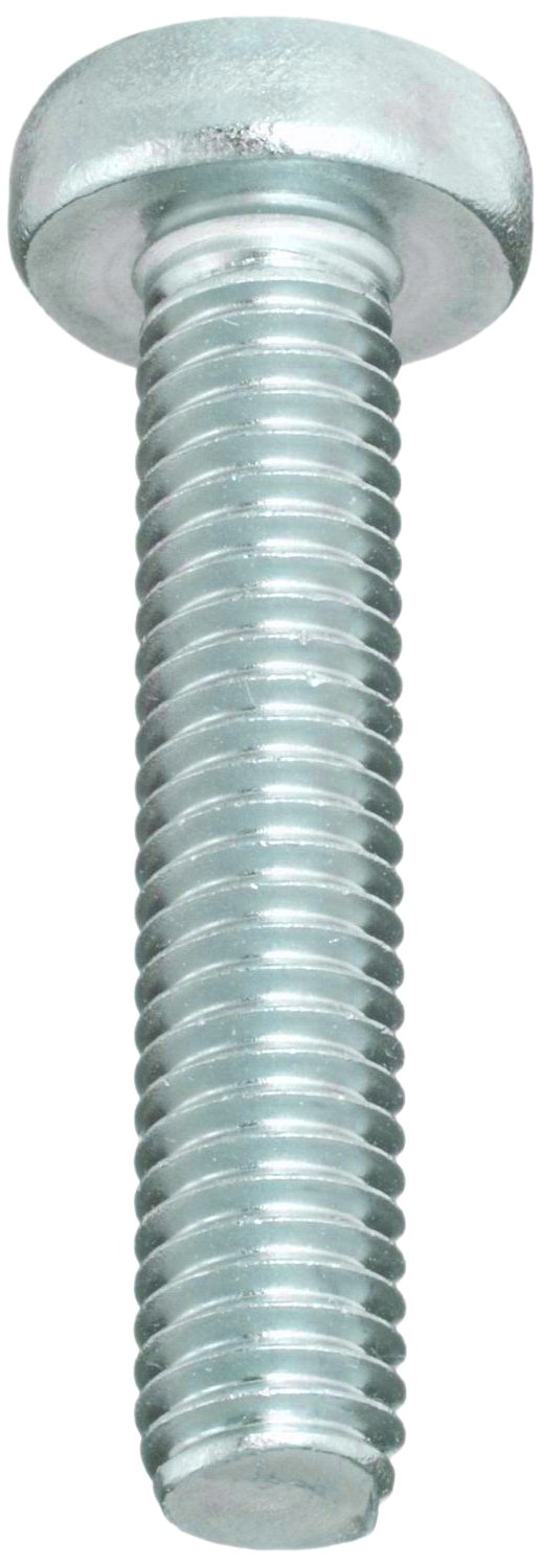 M3-0.5 Metric Coarse Threads Phillips Drive Meets DIN 7985 Pack of 100 Steel Machine Screw 14mm Length Zinc Plated Finish Pan Head Small Parts B00917LW82 Fully Threaded
