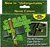 Cigar Holder Clip - Green Cigar Minder - 3 Pack