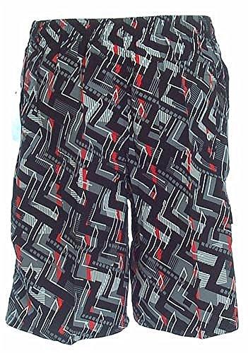 Shiwi Herren Badeshorts Shorts Badehose Boardshorts in schwarz gemustert