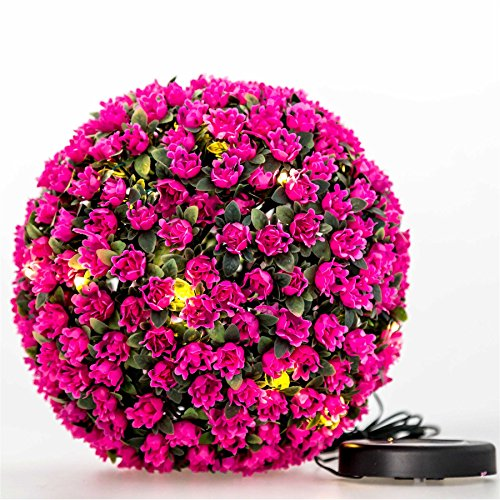 Artificial Topiary Balls With Led Lights - 2
